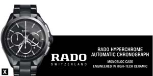 Swiss watches - Rado offers a wide range of luxury watches